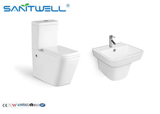 Cistern Compact Stand Keramik Toilet American Standard SWC1021 665 * 345 * 830 Mm