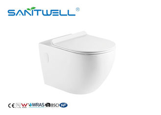Wall Gravity Flushing Wall Mounted Wc Toilet One Piece 575 * 360 * 360mm
